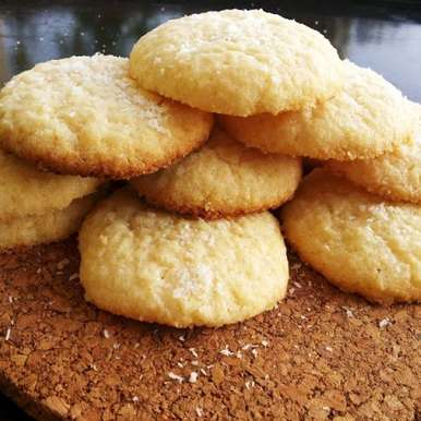 Photo of Coconut cookies by Febina Farook at BetterButter