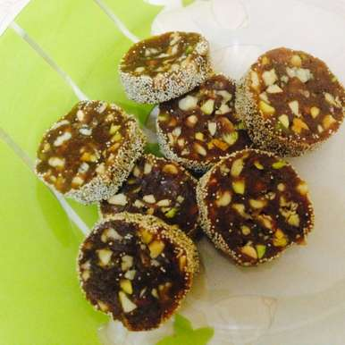 Photo of Dates and Nuts Roll by Sumaiyya Memon at BetterButter
