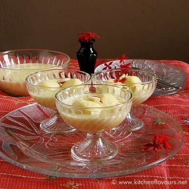 Photo of Very Instant Rasmalai by Lubna Karim at BetterButter