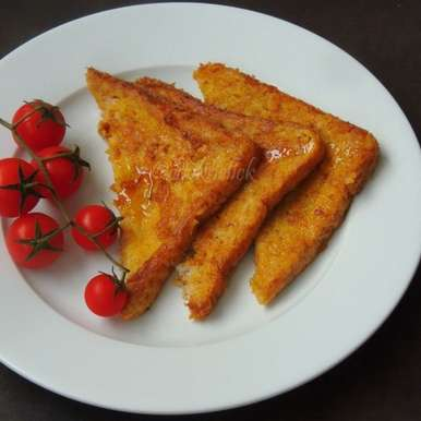 Photo of Eggless Cinnamon French Toast by Priya Suresh at BetterButter