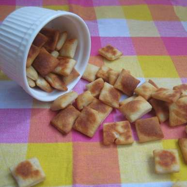 Photo of Cheese Crackers by Amrita Roy at BetterButter