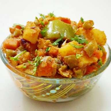 Photo of Kadai Vegetable by Sivasakthi Murali at BetterButter