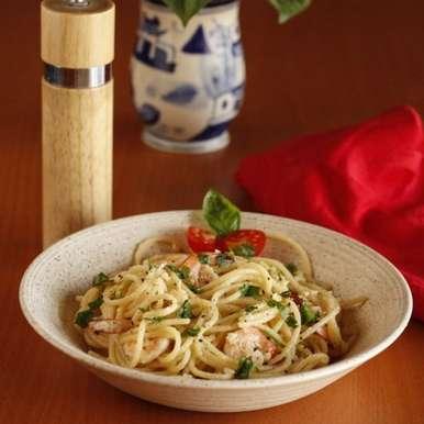 Photo of Spaghetti Butter Garlic Prawns by Anitha Nayak at BetterButter