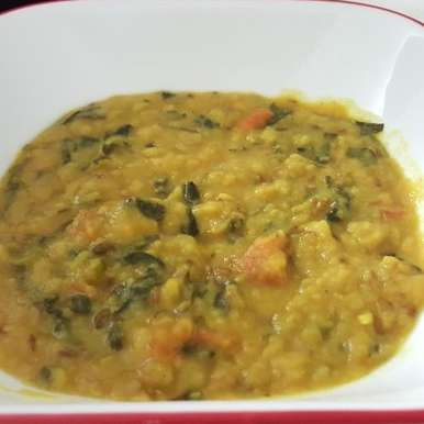 Palak dal, How to make Palak dal