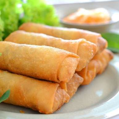 Photo of Chicken Spring Rolls by Ruchira Hoon at BetterButter