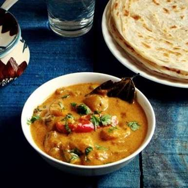Photo of Hyderabadi Shahi Mixed Vegetable Curry by Lubna Karim at BetterButter