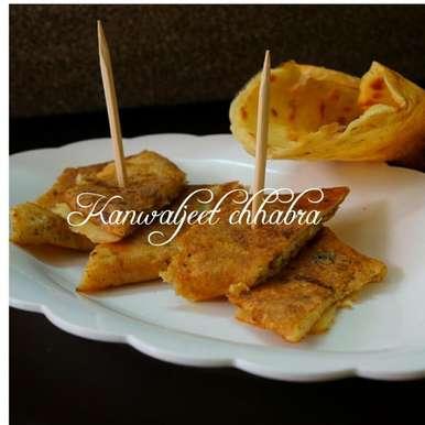 Photo of Moong dal dosa bites (zero oil recipe ) by Kanwaljeet Chhabra at BetterButter