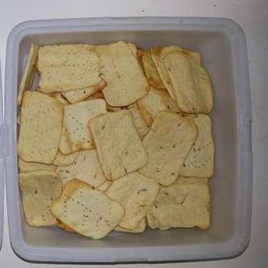 Soda Crackers, How to make Soda Crackers