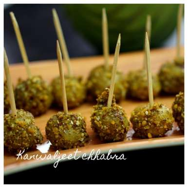 Photo of Spicy baby potato pops by Kanwaljeet Chhabra at BetterButter