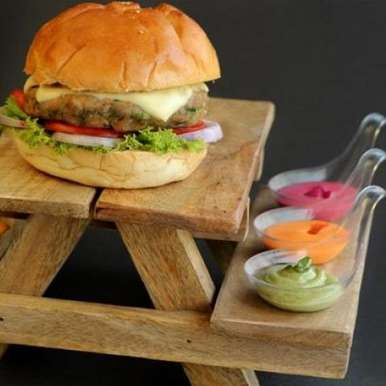 Photo of Vegetable Burger by Lights Camera Action at BetterButter