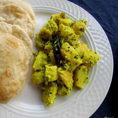 Bhappa Aloo, How to make Bhappa Aloo
