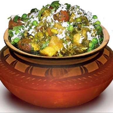Photo of Surti Undhiyu (Healthy Version) by Pooja Sagar Shah at BetterButter