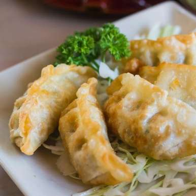 Photo of Fried Chicken Dumplings by Ruchira Hoon at BetterButter