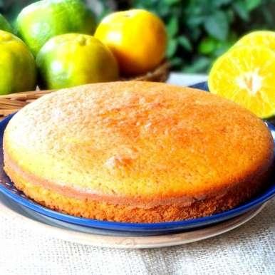 Photo of Orange Yogurt Cake (Butter free) by Namita Tiwari at BetterButter