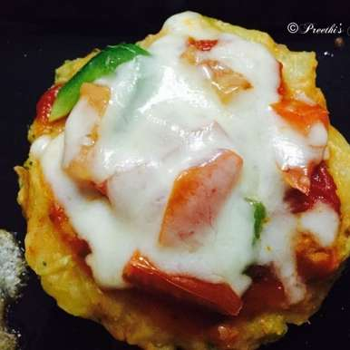 Photo of Fusion Pizza (My Style) by Preethi Prasad at BetterButter