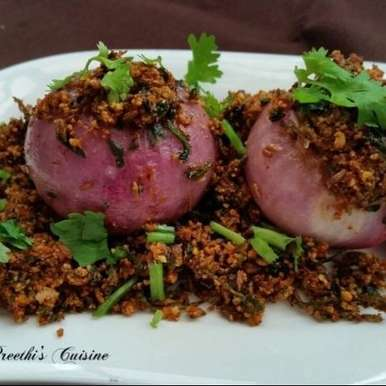 Photo of Onion Stuffed by Preethi Prasad at BetterButter