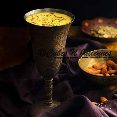 Photo of Kesar Badam Milk by Farrukh Shadab at BetterButter