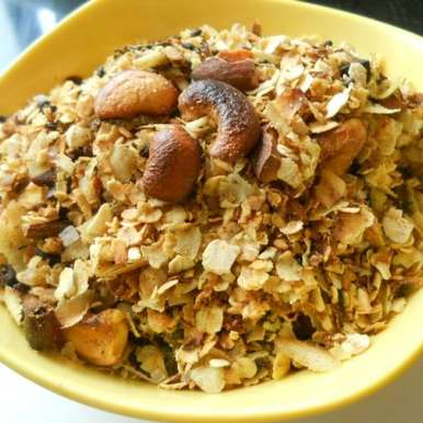 Photo of Diet Oats And Poha Chiwda (low cal) by Pooja Sagar Shah at BetterButter