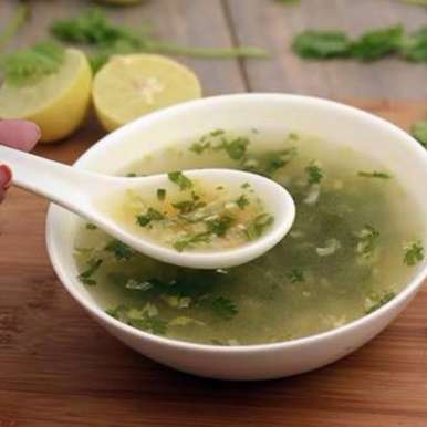 Photo of Lemon Coriander Soup by Pooja Sagar Shah at BetterButter