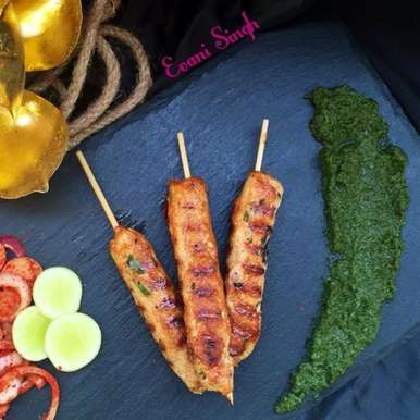 Photo of Chicken seekh kebabs by Evani Singh at BetterButter