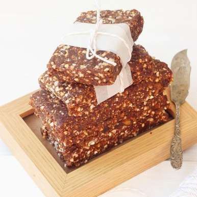 Photo of No Bake Buckwheat and Cacao Bars by Jagruti D at BetterButter
