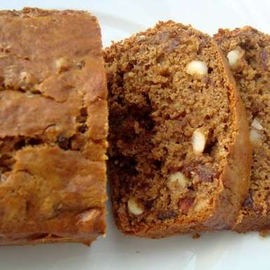 Photo of Dates and Nuts Loaf by Poornima Hegde at BetterButter