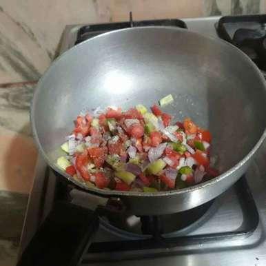 Photo of Veggies sandwich by Puneet K Sethi at BetterButter