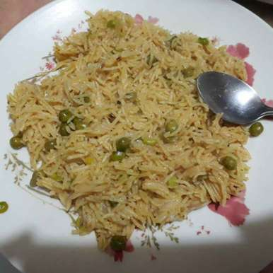 Photo of Onion and peas pulav by Puneet K Sethi at BetterButter