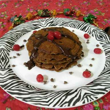 Photo of Chocolate Pancake by Purvi Modi at BetterButter