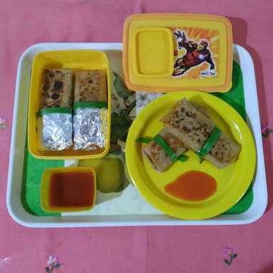 Photo of Cheesy Veg Roll by Purvi Modi at BetterButter