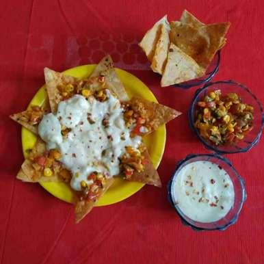 Photo of Roti Nachos by Purvi Modi at BetterButter