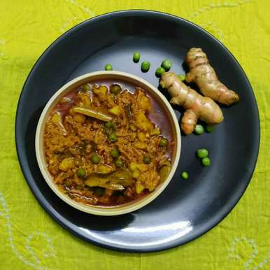 Photo of Rajasthani Turmeric Curry by Purvi Modi at BetterButter