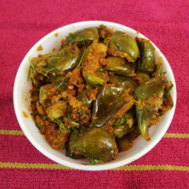 Photo of Brinjal coconut fry by R.Anandi Anand at BetterButter