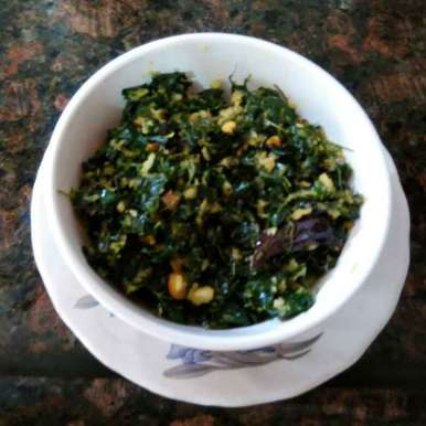 Photo of Drumstick Leaves Stir Fry by R.Anandi Anand at BetterButter