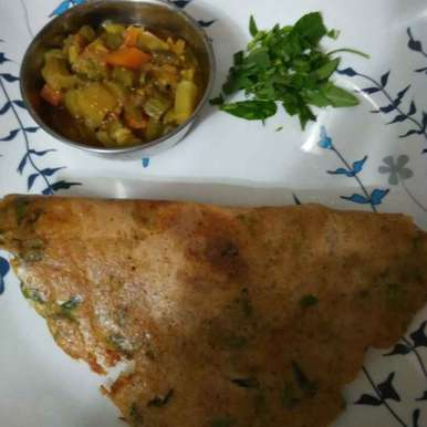 Photo of Dal Methi Dosa by R.Anandi Anand at BetterButter