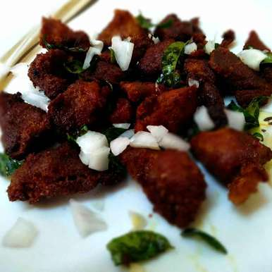 Photo of Crispy Fried mutton by Rabia Hamnah at BetterButter