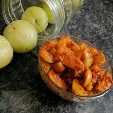 Instant Amla Pickle, How to make Instant Amla Pickle