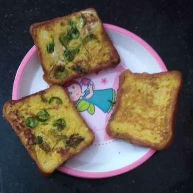 Photo of Masala Bread toast by Rachell Revathi Samuel at BetterButter