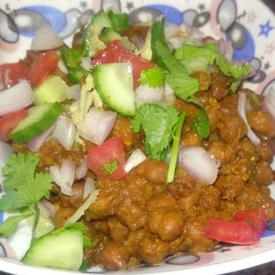 Photo of Black channa chaat (expecting mother) by RACHNA SEHDEV at BetterButter