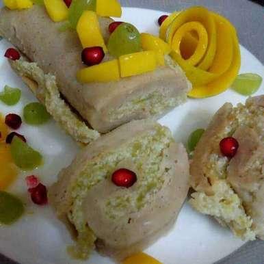 Photo of Falahari swiss roll by PRadhika prat panchal at BetterButter