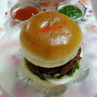 Photo of Veg burger by Geeta Verma at BetterButter