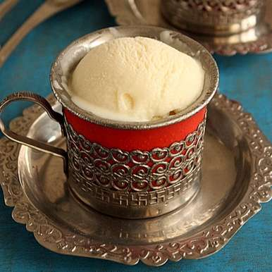 Photo of Eggless vanilla Ice cream by Rajani sivaram at BetterButter