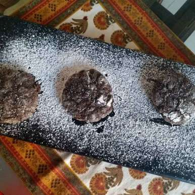 Photo of Rustic chocolate cookies with coconut by Rajni Anand at BetterButter