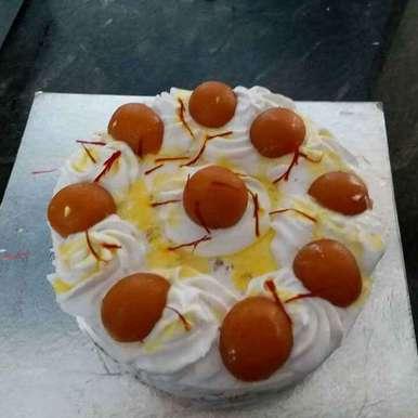 Photo of Mawa and gulab jamun cake by Rajni Gupta Anand at BetterButter