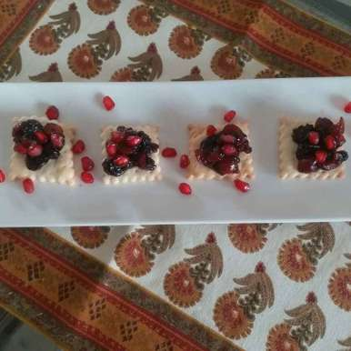 Photo of Berry Blast crackers by Rajni Gupta Anand at BetterButter
