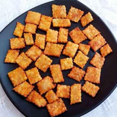 Photo of Kutchi Dabeli Masala Flavour Shakarpara by Rakesh prajapati's kitchen at BetterButter