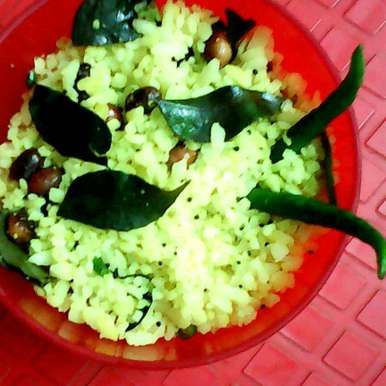 Poha, How to make Poha