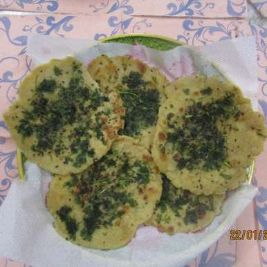 Photo of Coriander and Sesame seeds Butter Naan by Rathy V at BetterButter