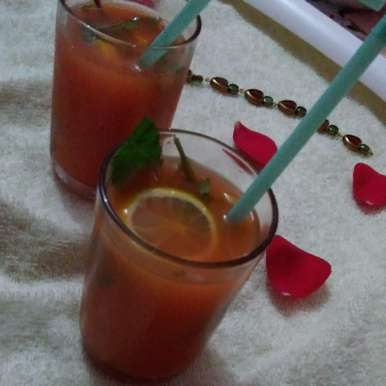 Photo of Carrot Ginger Lime Juice by Rathy V at BetterButter