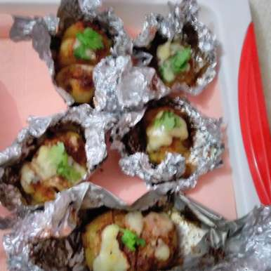 Photo of Spicy Baked Potatoes by Rathy V at BetterButter